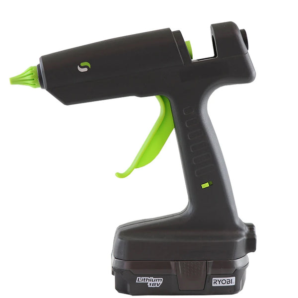 Dual Power Hybrid Cordless Hot Melt Glue Gun