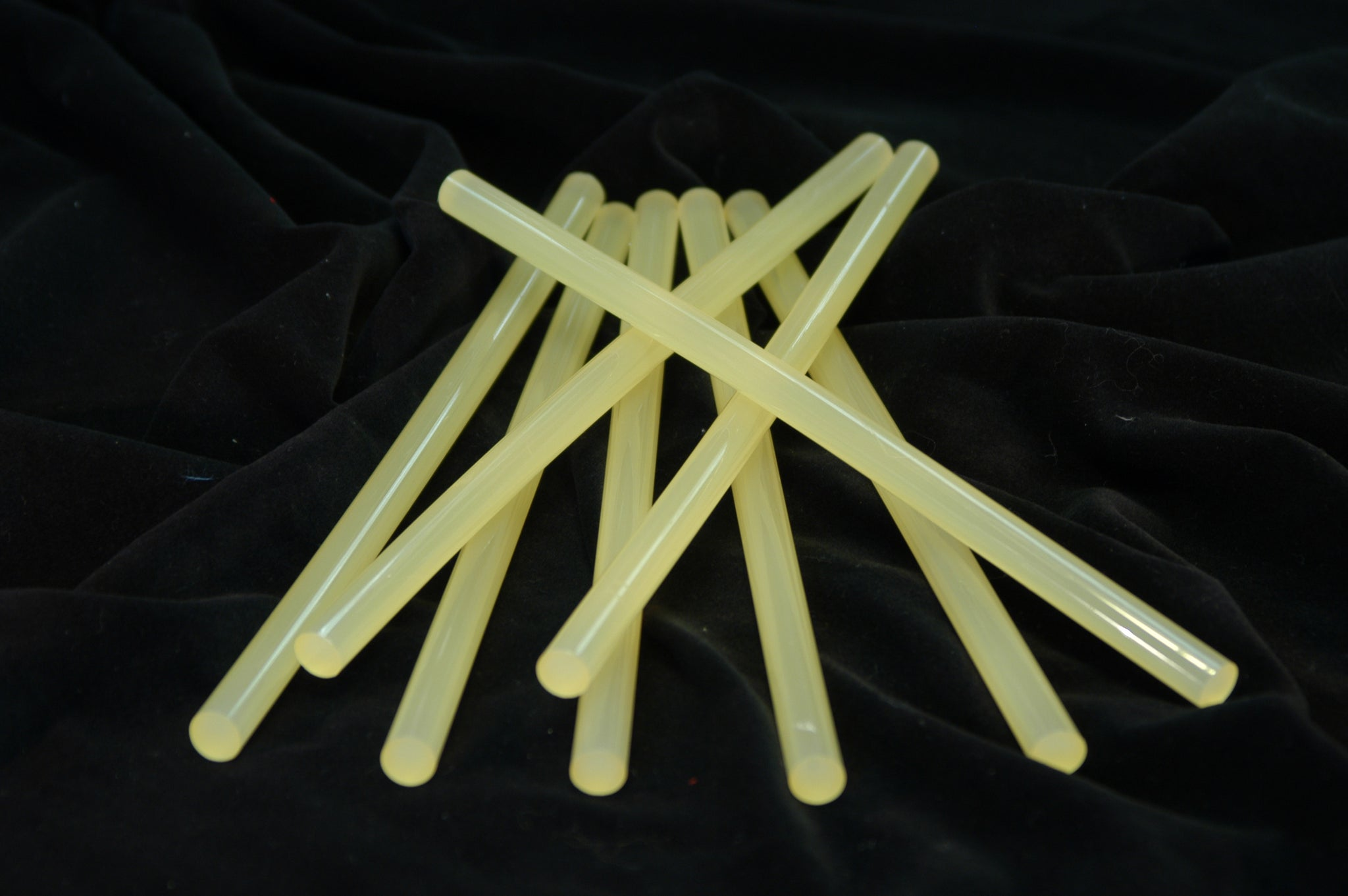 Wood Hot Melt Glue Sticks - High Strength - Available In Black & Tan
