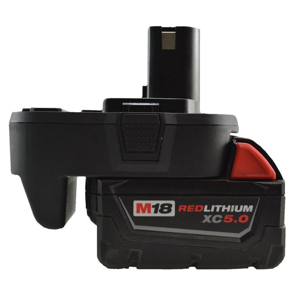 Adapter for the Milwaukee 18V Lithium Ion Battery
