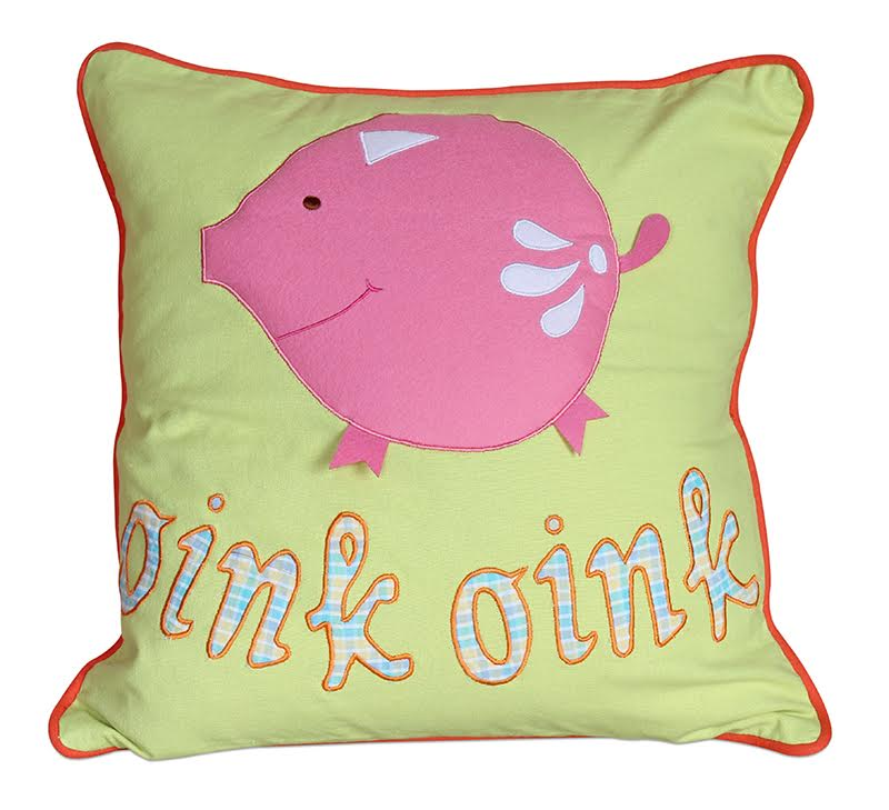 Farm Animal Piggie Cushion