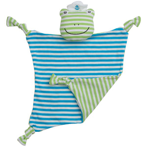 Cotton Skippy Frog Blankie
