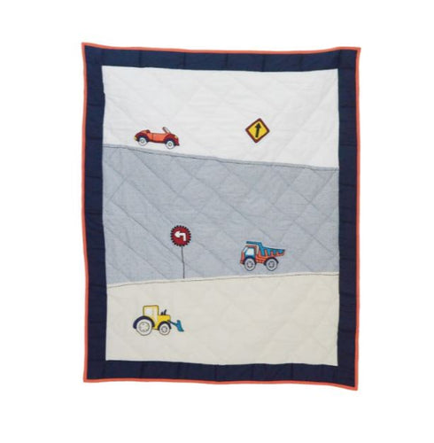 Boys 'N Toys Cot Quilt