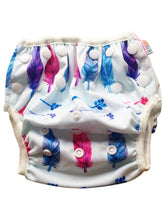 OSFM Reusable Swim Nappy - Feathers