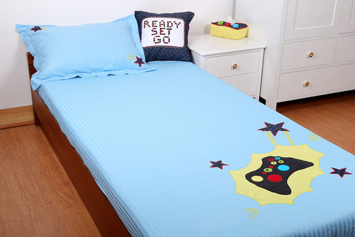 Gaming Top Sheet & Pillow case Set