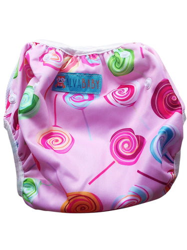 OSFM Reusable Swim Nappy - Lollipops