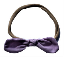 Cotton bow head band - three colours