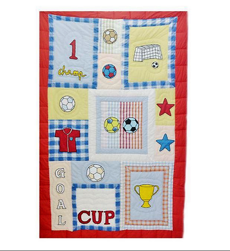 Soccer Single Bed Quilt