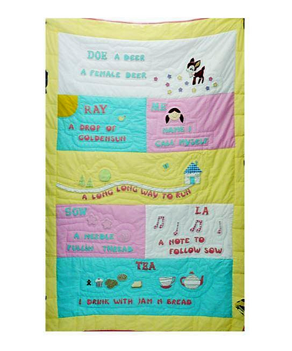 Sound of Music Single Bed Quilt