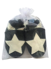 Black with White Star