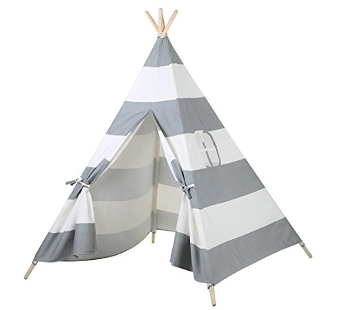 Grey Stripe Teepee