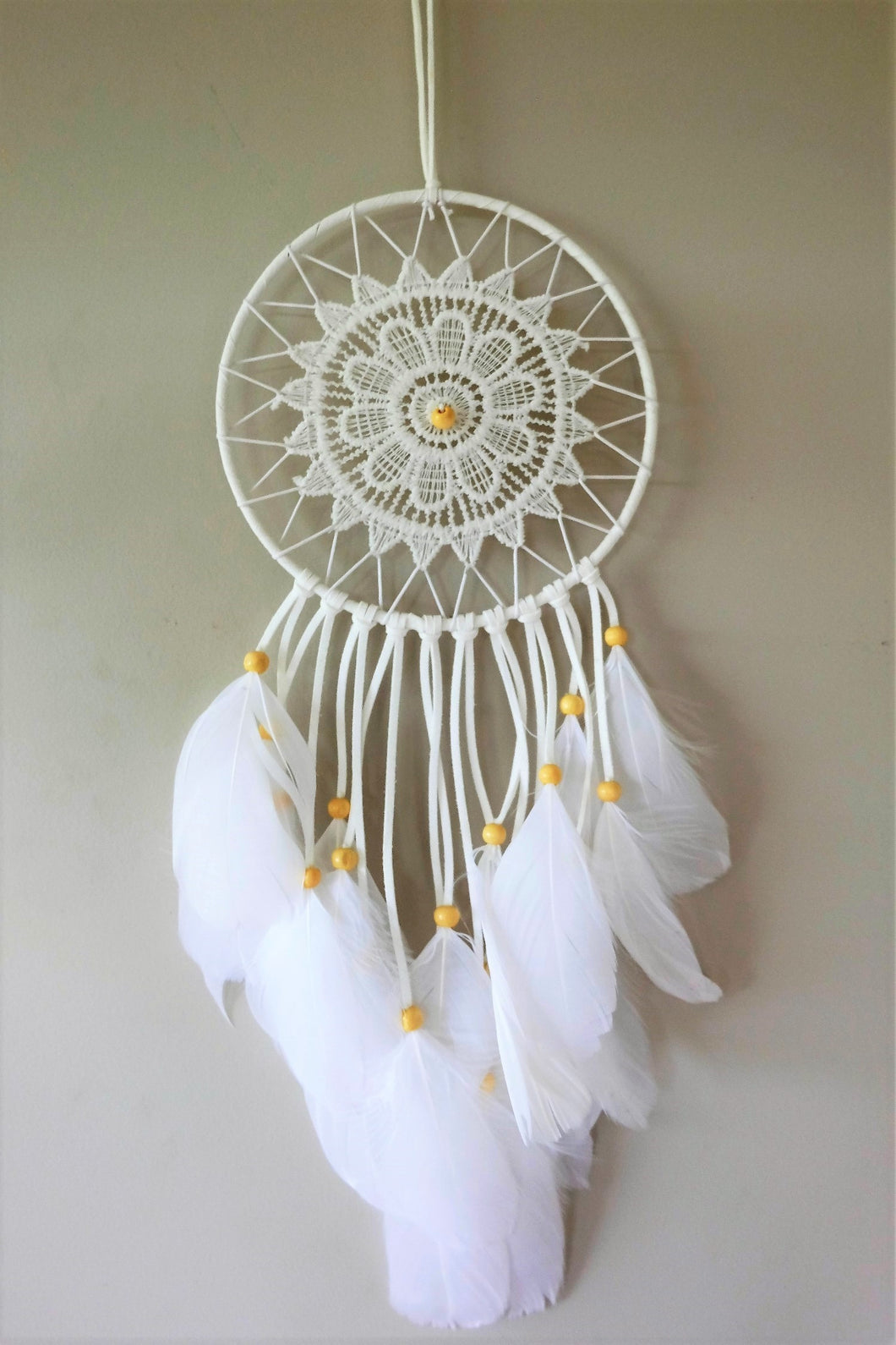White Moon Dreamcatcher