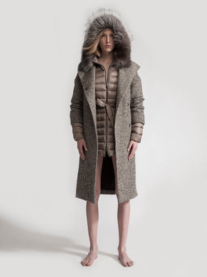 LAURA / Wool Coat