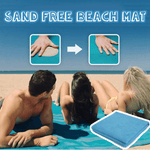 Sand Free Beach Mat - makegoodies