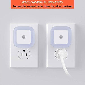 Plug-in LED Night Light with Automatic Sensor