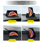 Foldable Non-slip Car Phone Holder Pad