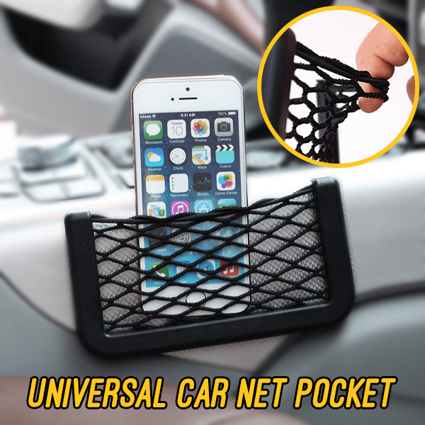 Universal Car Net Pocket