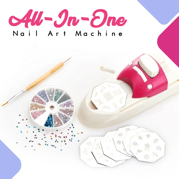 All-In-One Nail Art Machine - makegoodies