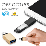 Type-C to USB OTG Adapter