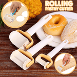 Rolling Pastry Cutter (Set of 3)