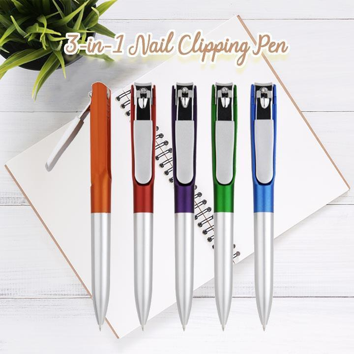 3-in-1 Nail Clipping Pen