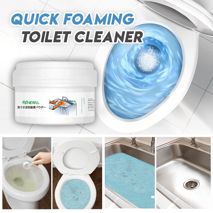Quick Foaming Toilet Cleaner Myblessing