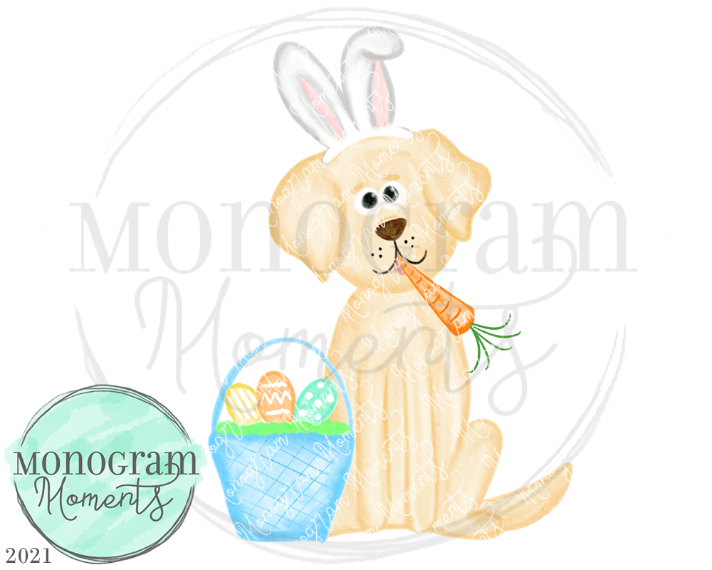 Boy's Easter Yellow Lab 2021