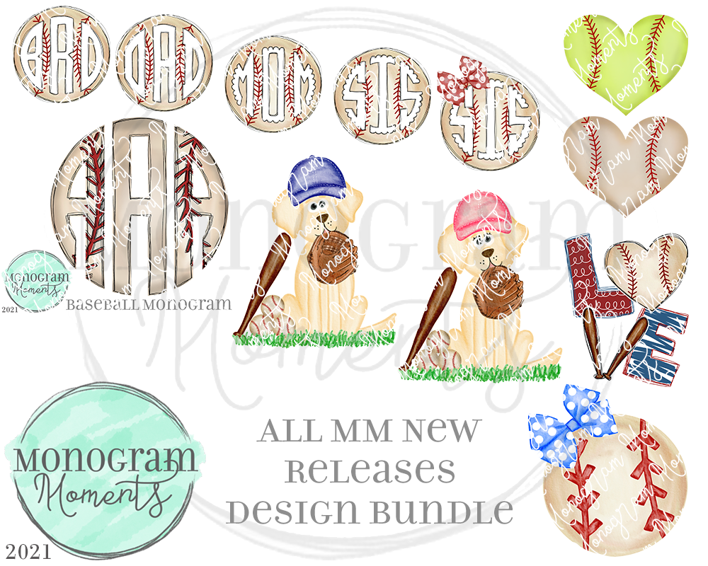 MM New Release Bundle 2/4/21 - Save 50% - 11 Total Designs