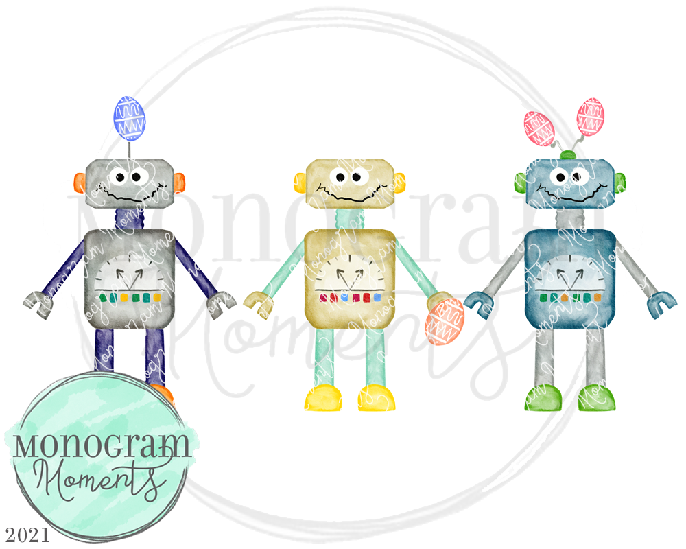 Easter Robots
