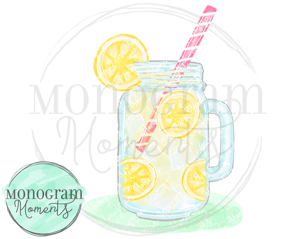 Lemonade Mason Jar