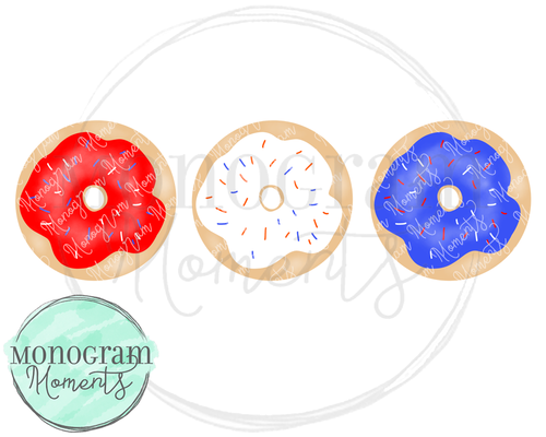 4th of July Donuts
