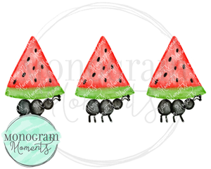 Red Watermelon & Ants