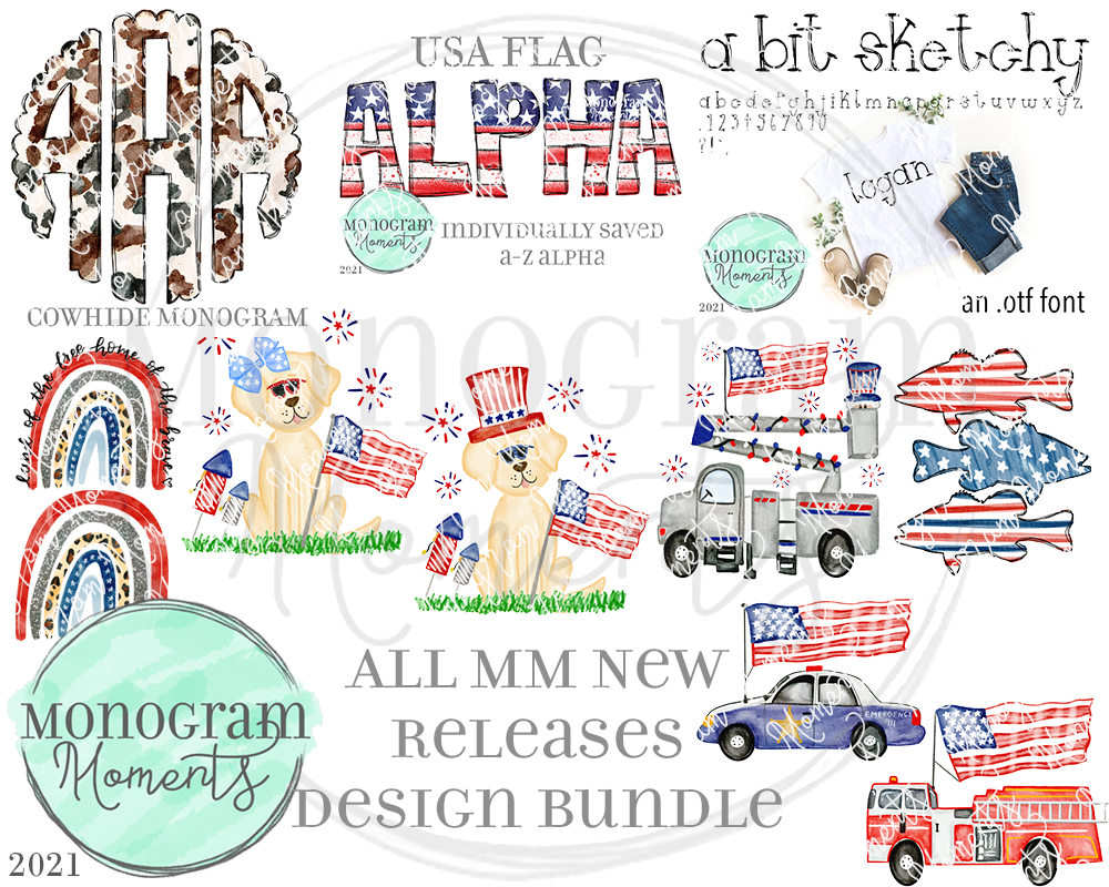 MM New Release Bundle 4/29/21 - Save 50% - 11 Total Designs