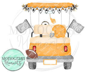 Boy's Tennessee Football Golf Cart