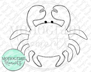 Outlined Crab