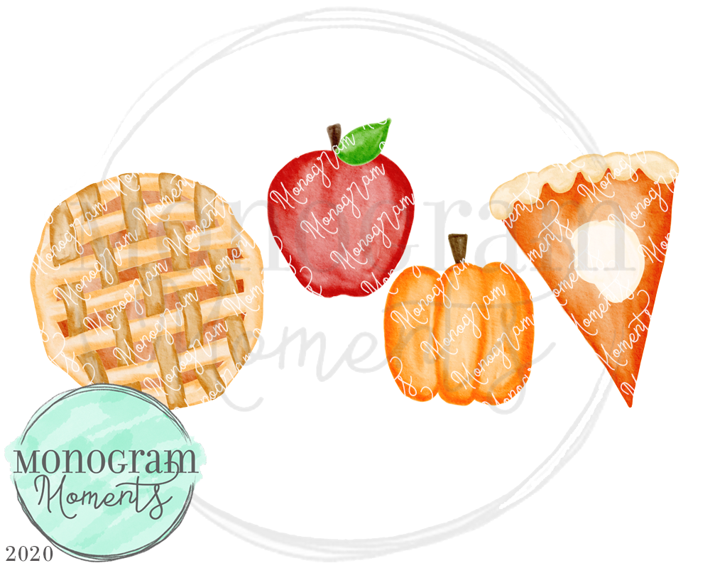Fall Pies Trio