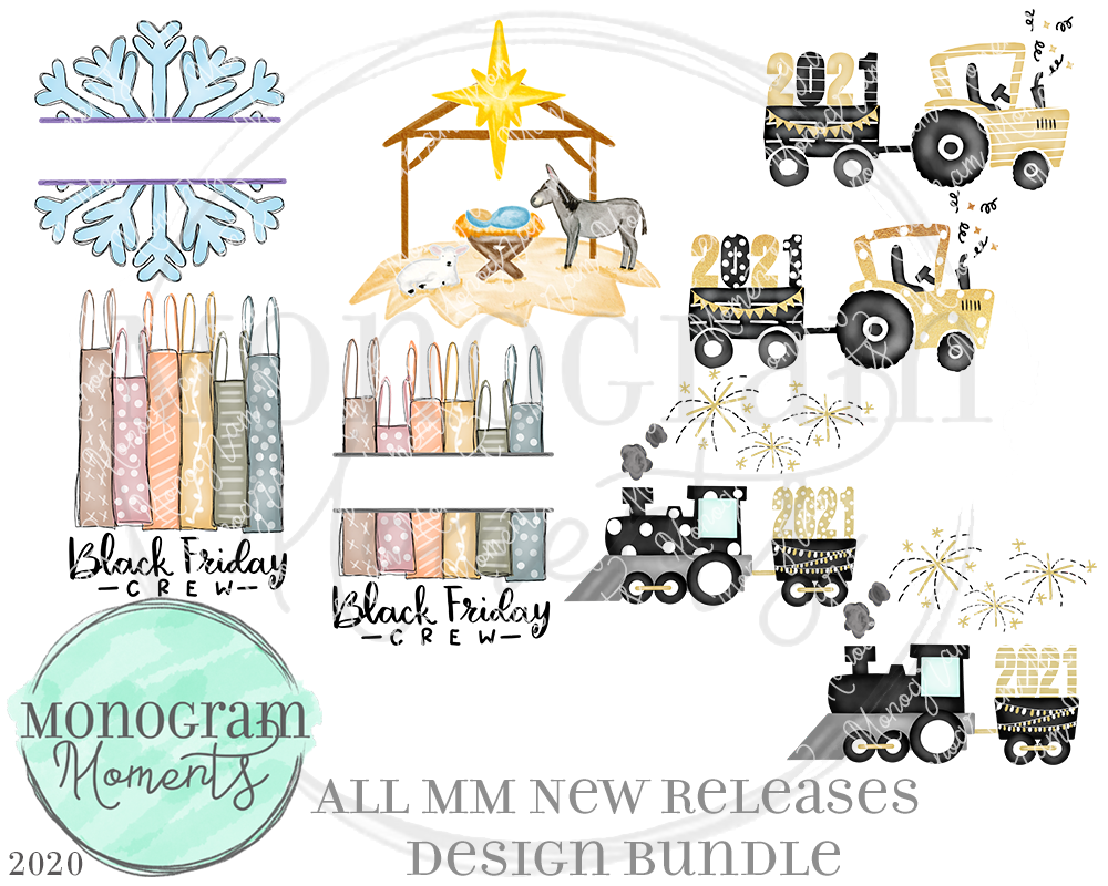 MM New Release Bundle 11/12/20 - Save 50% - 8 Total Designs