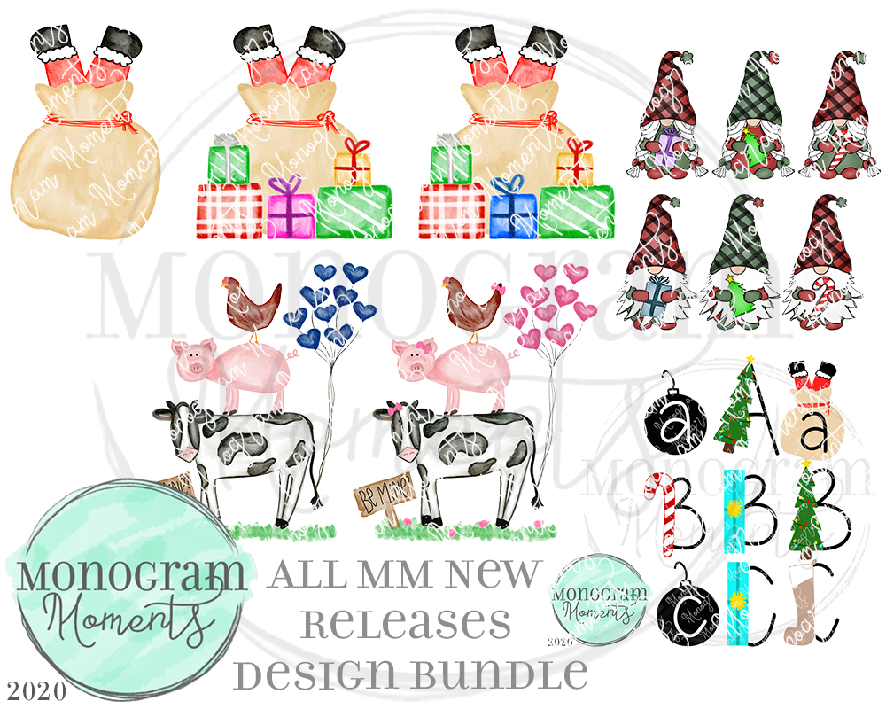 MM New Release Bundle 11/19/20 - Save 50% - 8 Total Designs