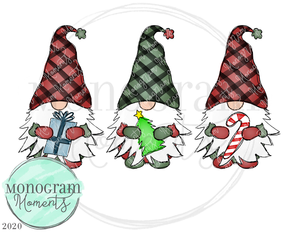 Boy's Christmas Gnomes