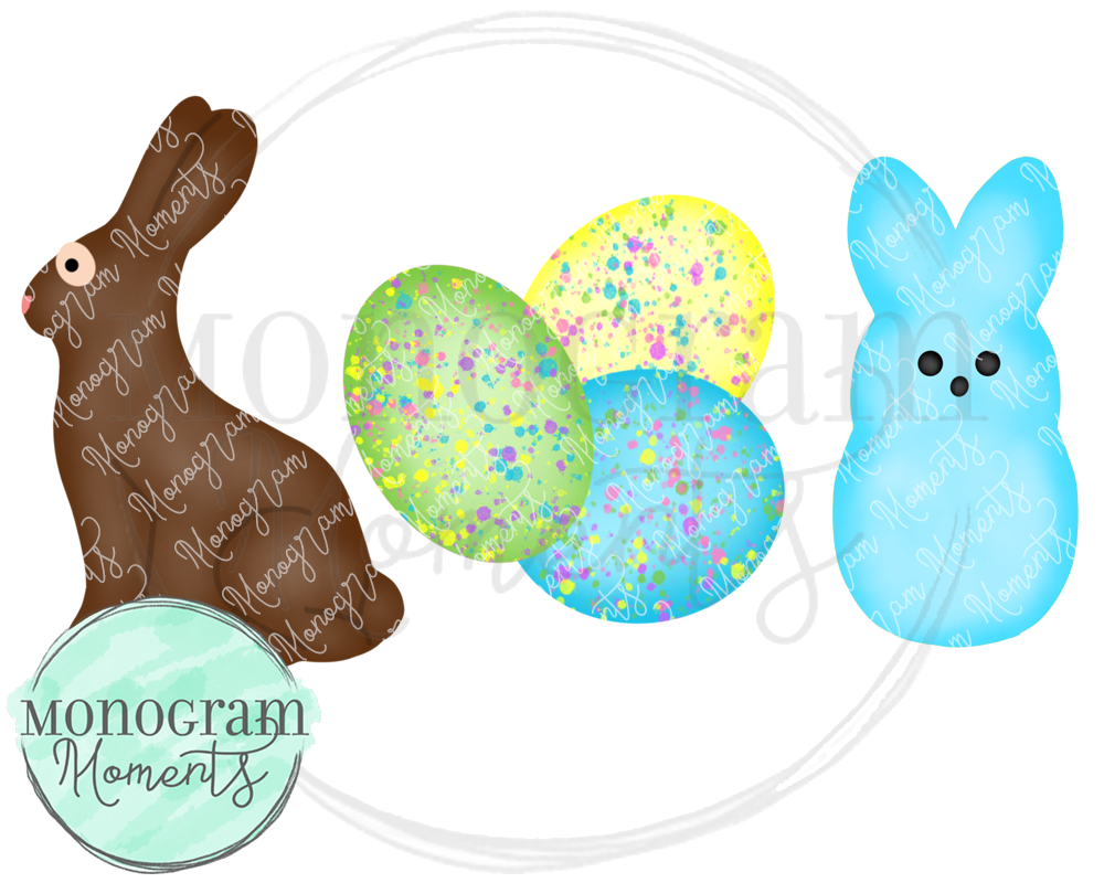 Boy's Easter Candy Trio