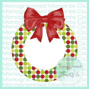 Retro Christmas Wreath