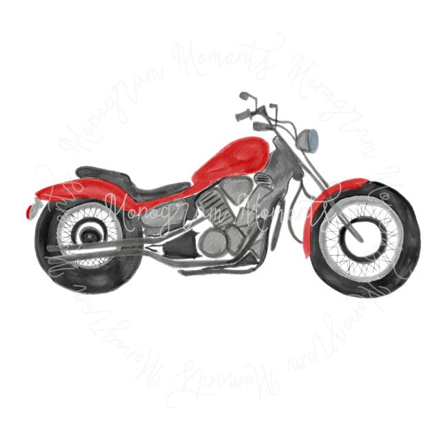 Red Motorcyle