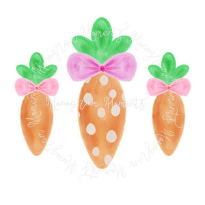 Girl's Easter Carrots