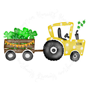 Girl's St. Patrick's Tractor