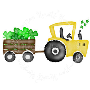 St. Patrick's Day Tractor