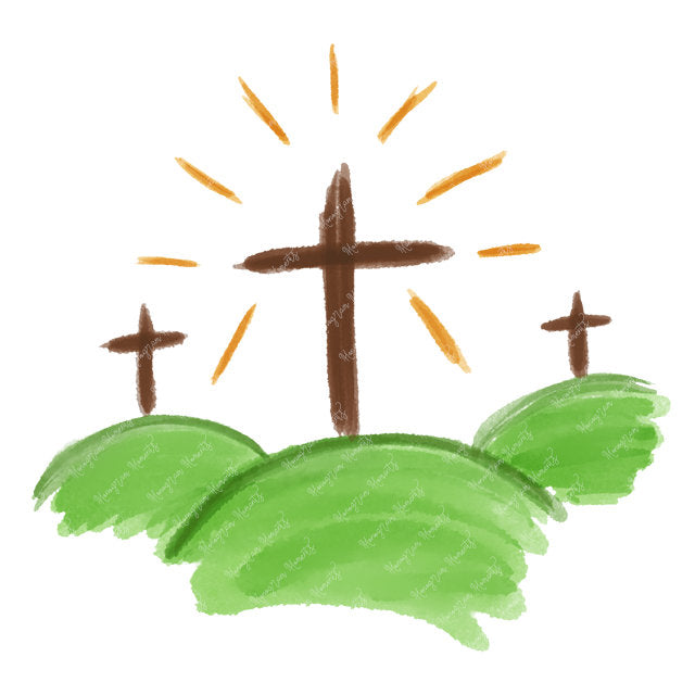 3 Easter Crosses