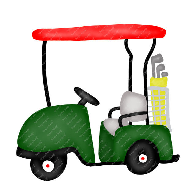Golf Tournament Golf Cart