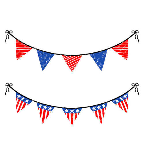 4th of July Bunting Banners (2)