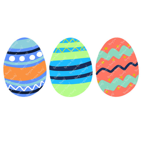 Boy's Easter Egg Trio