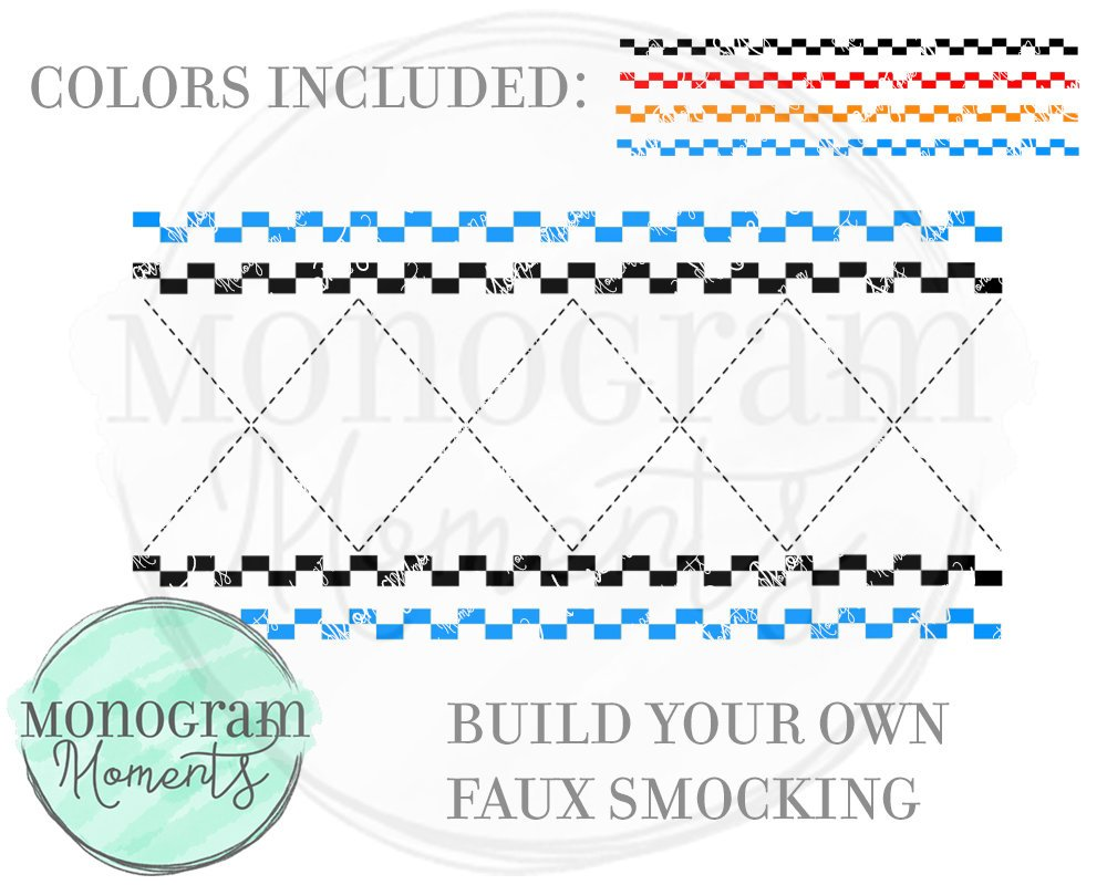 Faux Smocking Build Your Own Bundle 1-Boys