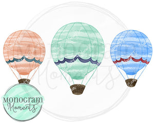Hot Air Balloon Trio